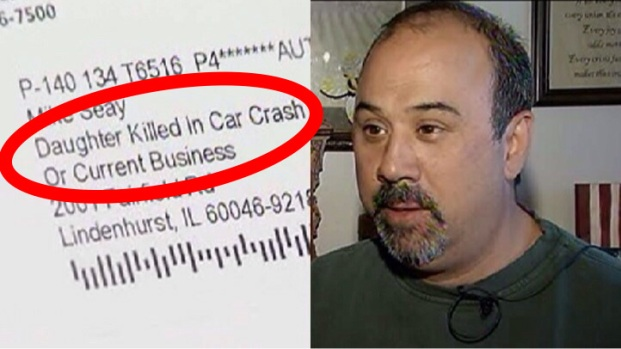 """[CHI] OfficeMax Sends Letter to """"Daughter Killed in Car Crash"""""""