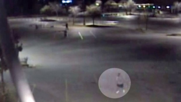 [DFW] Surveillance Video Shows Morales on the Run