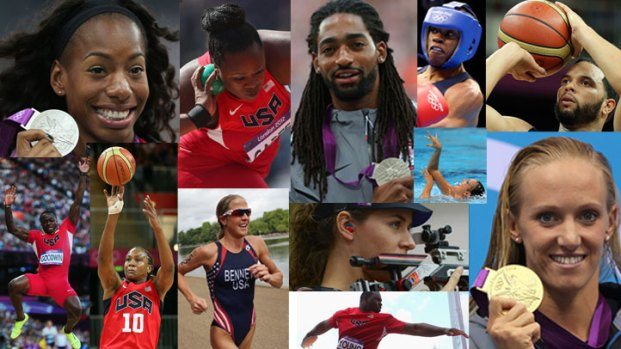 North Texas Olympians in Action
