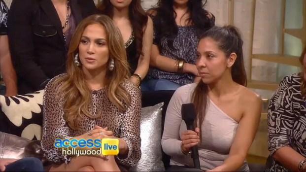 [NATL] Jennifer Lopez Sits Down For Fan Q&A