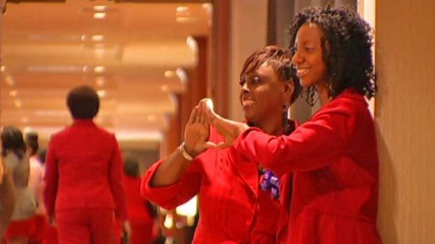 [DFW] Delta Sisters Celebrate Despite Threat