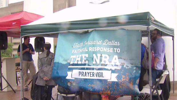 Protests at NRA Convention in Dallas