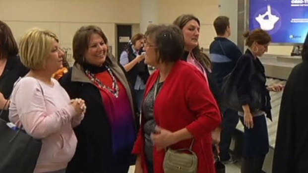 [DFW] North Texans Happy to be Home in Wake of Sandy