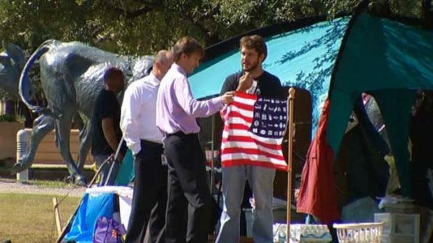 "[DFW] ""Occupy Dallas"" Protesters Go To Court"