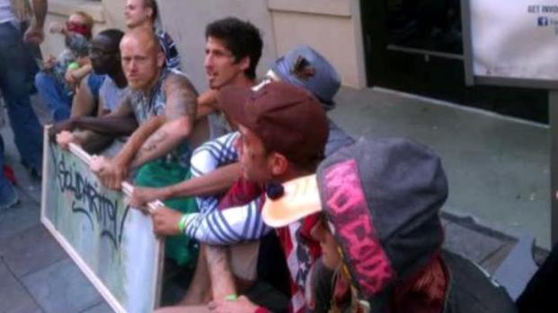 [DFW] Occupy Dallas Protesters Arrested at Bank Demonstration