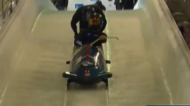 Texas Bobsledder on Track for the Winter Olympics