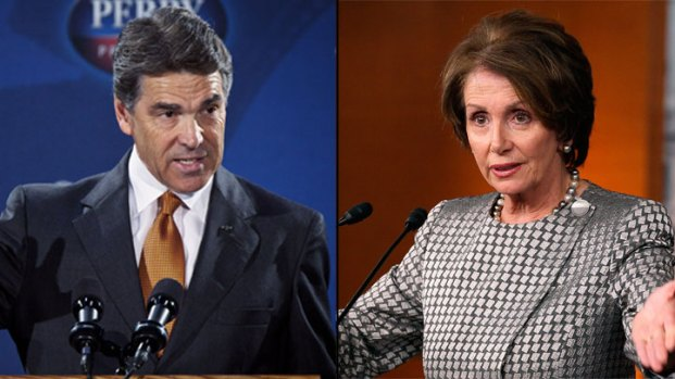 [DFW] Perry Picks Fight with Pelosi
