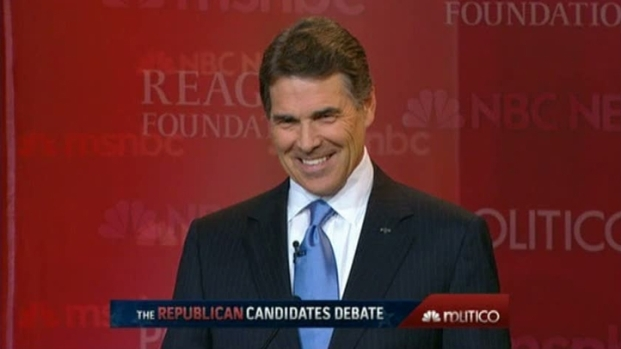 [DFW] Campaign Watchers Say Perry Held His Own