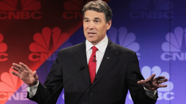[DFW] Perry Talks Family With Iowa Voters