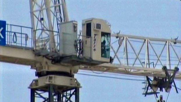 Timeline: SMU Crane Standoff