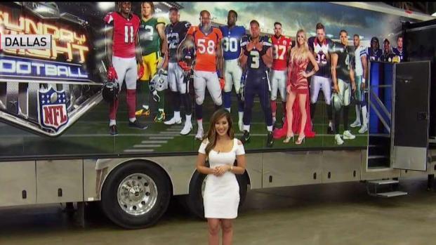 [DFW] A Look Inside NBC's Sunday Night Football Bus