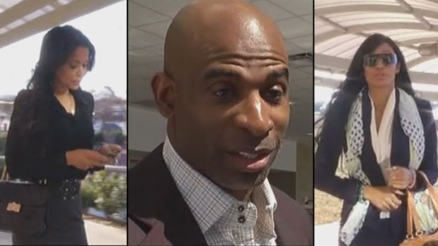 [DFW] Deion and Pilar Sanders' Monday Court Appearance