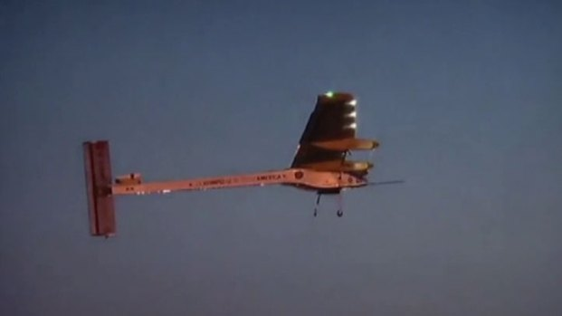[DFW] Solar Plane Stops in North Texas