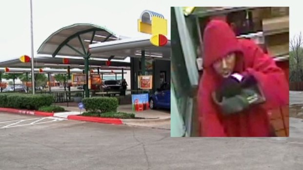 [DFW] Serial Robber Strikes Sonic
