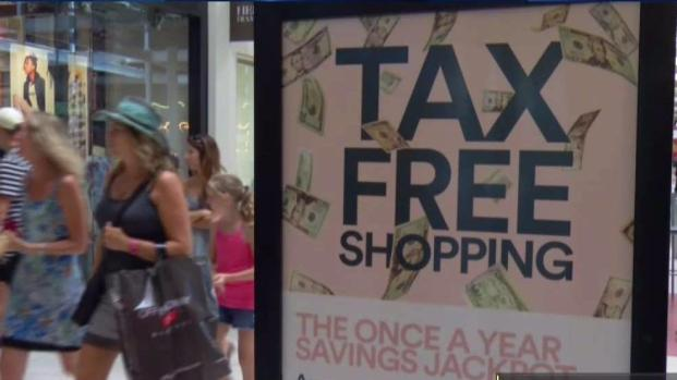 Texas Sales Tax Holiday This Weekend - Aug. 11-13