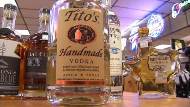 [DFW] Texas Liquors Drinking Up Market Share