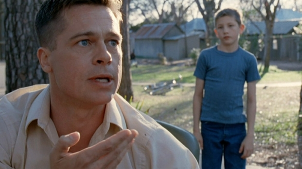 "[NATL] Brad Pitt's Mildly Terrifying Parenting in ""Tree of Life"""