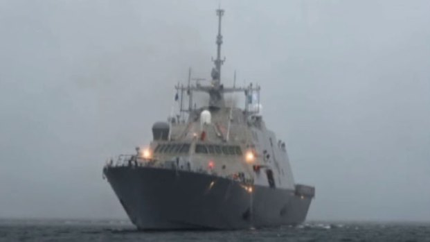 [DFW] Here Comes The USS Fort Worth