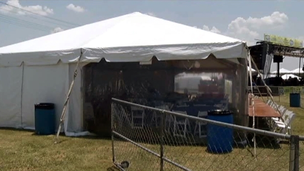 [DFW] Critics Call Flower Mound VIP Tent Waste of Money