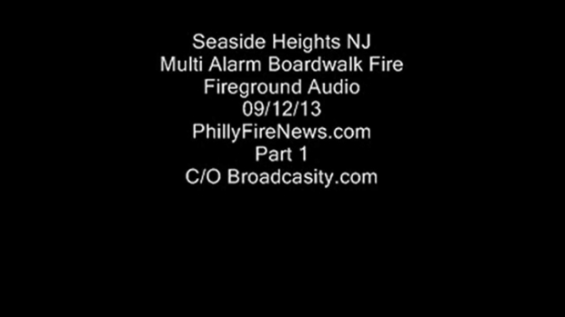 [PHI] Fire Radio Call of Boardwalk Fire