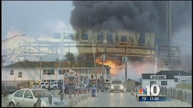 [PHI] Dozens of Businesses Destroyed in Boardwalk Fire