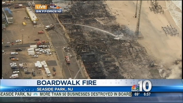 [PHI] Funtown Still Smoldering the Day After Boardwalk Fire