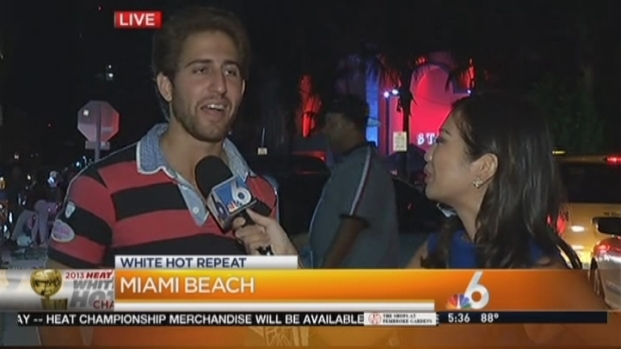 [MI] Fan Describes Partying With The Miami Heat at Story Nightclub