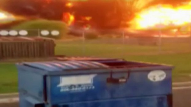Incredible Video Shows West Explosion