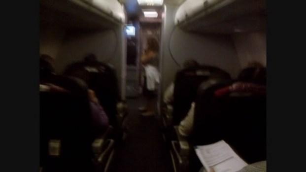 [MI] Raw Video: American Airlines Flight Delay