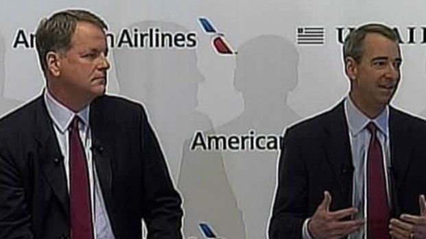 [DFW] CEOs Discuss AA, US Airways Merger