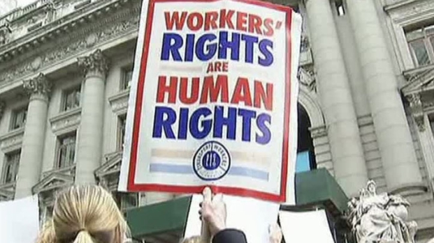 [DFW] AA Employees Picket in NYC