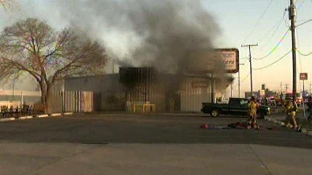 [DFW] Police: Man Set Fire to Saginaw Antiques Shop