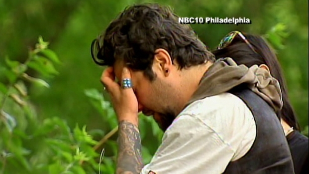 [PHI] Grieving Bam Margera at Scene of Dunn Crash