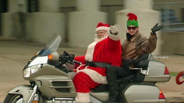 [DFW] Santa Rides a Motorcycle