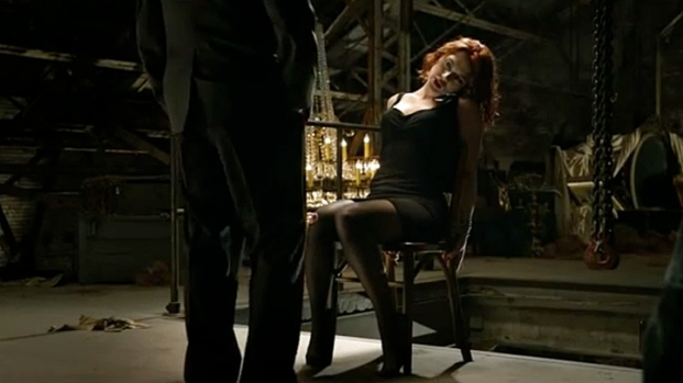 [NATL] The Avengers' Black Widow Delivers Beating While Tied to A Chair