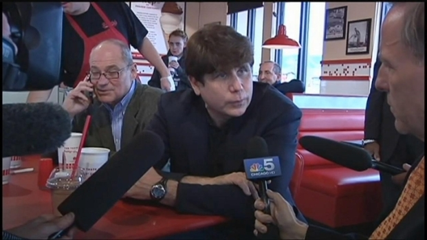 [CHI] Blagojevich's Lunchtime Interview