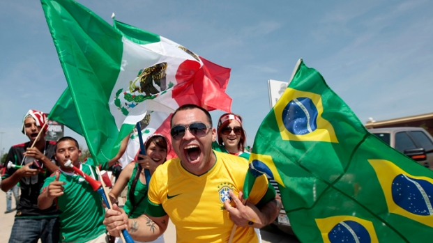 Brazil vs. Mexico at Cowboys Stadium