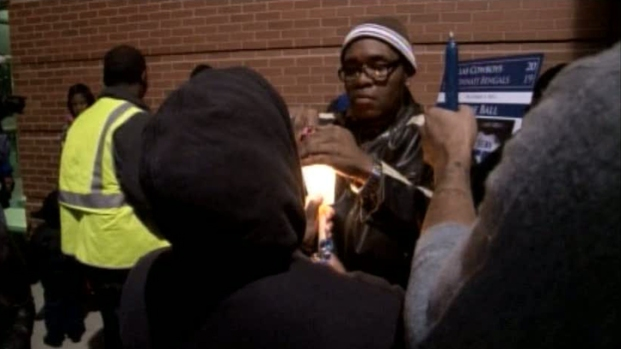 [DFW] Loved Ones Remember Brown at Vigil