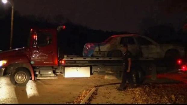 [DFW] Police Notify Burned Car Victim's Family