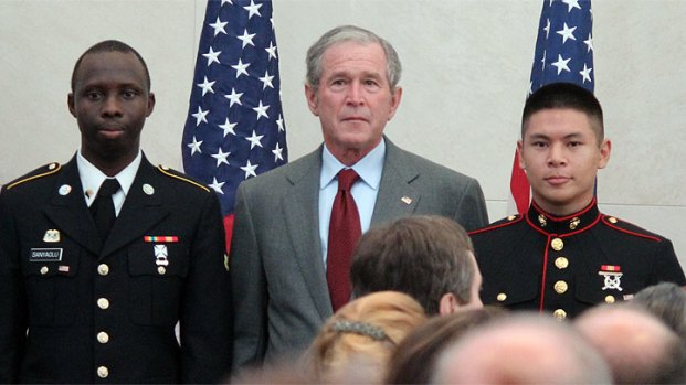 [DFW] Bush Praises Immigrants at Ceremony
