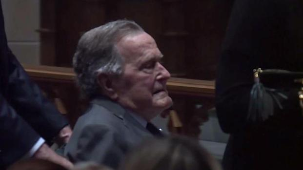 [DFW] Former President George H.W. Bush Hospitalized
