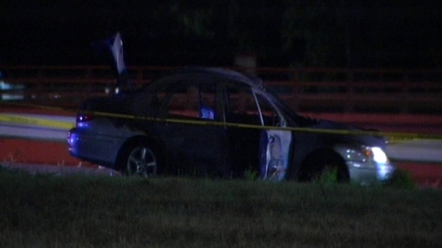 [DFW] Five Injured in Car Fire