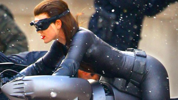 "[NBCAH] Anne Hathaway on Wearing the Catwoman Suit In ""The Dark Knight Rises"""