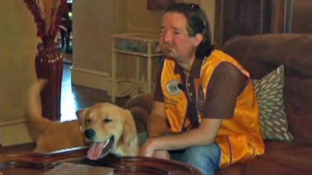 [DFW] Face Transplant Recipient Receives Leader Dog