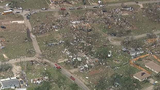 [DFW] Morning Light Reveals Tornado Devastation