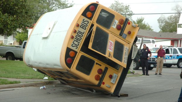 Seven Injured in Corsicana School Bus Crash