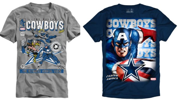 Marvel Pairs Up With Cowboys