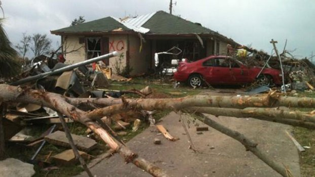 Photos of Granbury Tornado Damage