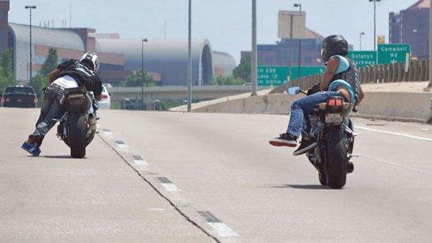 Viewer Photos: Motorcycle Stunts