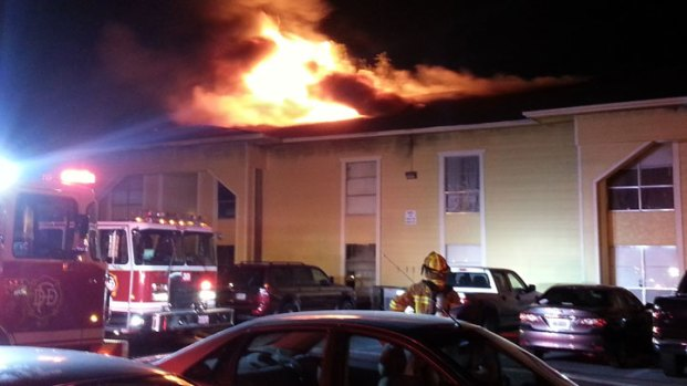 [DFW] Dozens Displaced by Apartment Fire
